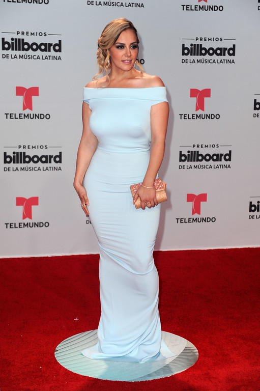 . CORAL GABLES, FL - APRIL 27:  Rosie Rivera attends the Billboard Latin Music Awards at Watsco Center on April 27, 2017 in Coral Gables, Florida.  (Photo by Sergi Alexander/Getty Images)