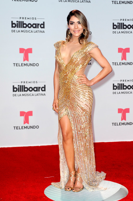 . CORAL GABLES, FL - APRIL 27:  Maria Leon attends the Billboard Latin Music Awards at Watsco Center on April 27, 2017 in Coral Gables, Florida.  (Photo by Sergi Alexander/Getty Images)