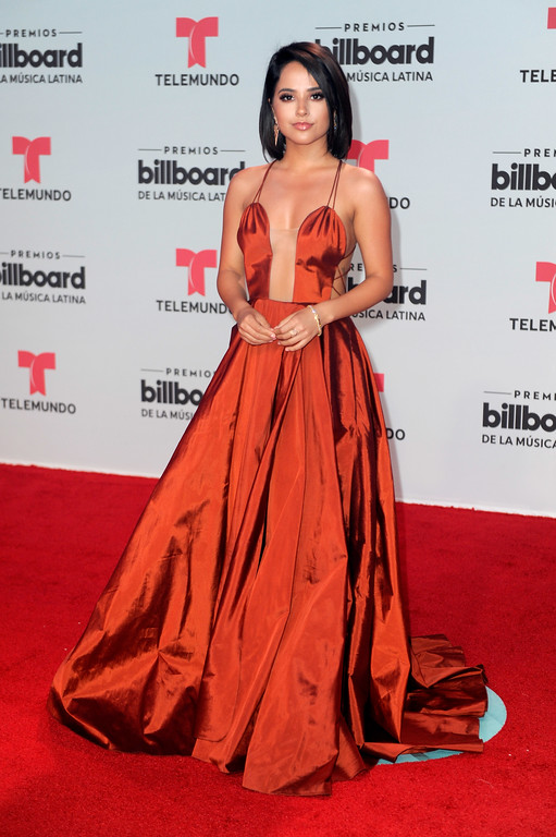 . CORAL GABLES, FL - APRIL 27: Becky G attends the Billboard Latin Music Awards at Watsco Center on April 27, 2017 in Coral Gables, Florida.  (Photo by Sergi Alexander/Getty Images)