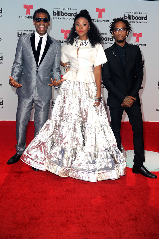 . CORAL GABLES, FL - APRIL 27:  ChocQuibTown attend the Billboard Latin Music Awards at Watsco Center on April 27, 2017 in Coral Gables, Florida.  (Photo by Sergi Alexander/Getty Images)