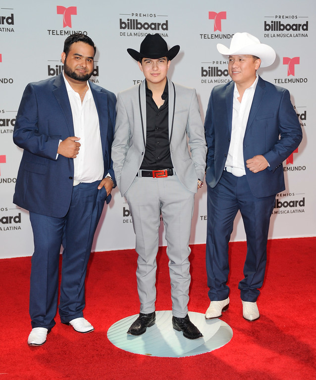 . CORAL GABLES, FL - APRIL 27:  Ulices Chaidez y Sus Plebes attend the Billboard Latin Music Awards at Watsco Center on April 27, 2017 in Coral Gables, Florida.  (Photo by Sergi Alexander/Getty Images)