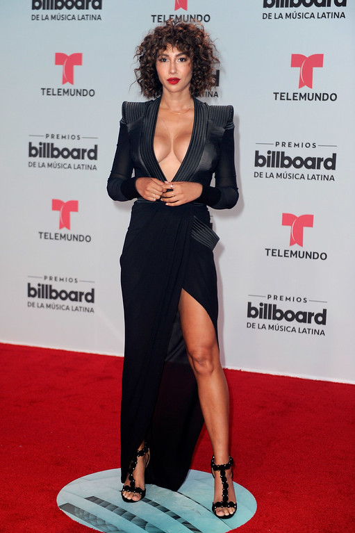 . CORAL GABLES, FL - APRIL 27:  Jackie Cruz attends the Billboard Latin Music Awards at Watsco Center on April 27, 2017 in Coral Gables, Florida.  (Photo by Sergi Alexander/Getty Images)