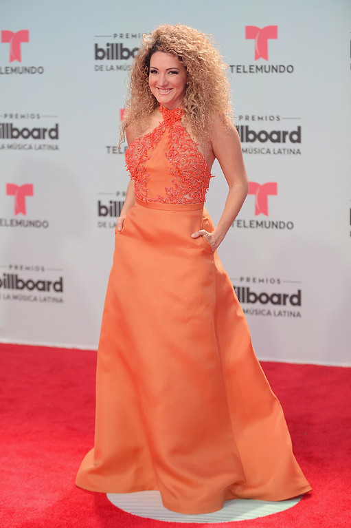 . MIAMI, FL - APRIL 27:  Erika Ender attends the Billboard Latin Music Awards at Watsco Center on April 27, 2017 in Miami, Florida.  (Photo by Jason Koerner/Getty Images for Billboard)