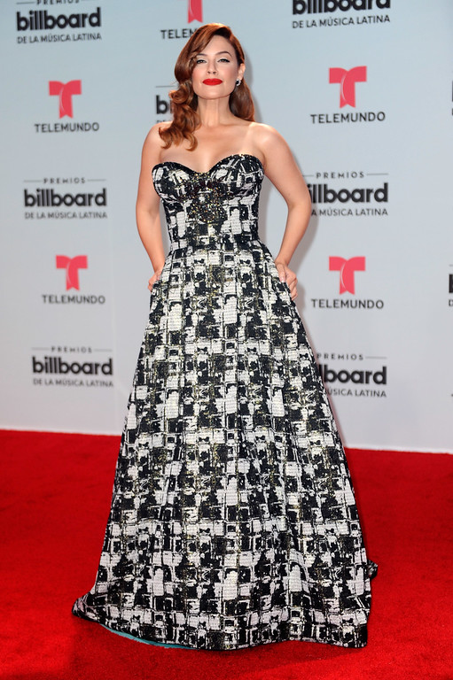 . CORAL GABLES, FL - APRIL 27:  Angelica Celaya attends the Billboard Latin Music Awards at Watsco Center on April 27, 2017 in Coral Gables, Florida.  (Photo by Sergi Alexander/Getty Images)
