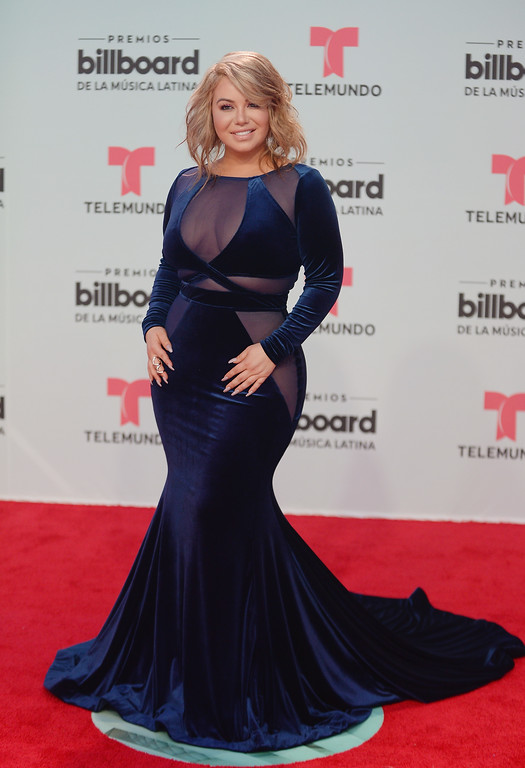. MIAMI, FL - APRIL 27:  Chiquis Rivera attends the Billboard Latin Music Awards at Watsco Center on April 27, 2017 in Miami, Florida.  (Photo by Jason Koerner/Getty Images for Billboard)