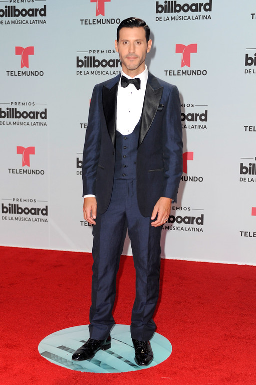 . CORAL GABLES, FL - APRIL 27:  Quique Usales attends the Billboard Latin Music Awards at Watsco Center on April 27, 2017 in Coral Gables, Florida.  (Photo by Sergi Alexander/Getty Images)