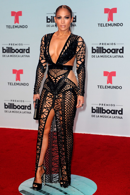 . CORAL GABLES, FL - APRIL 27:  Jennifer Lopez attends the Billboard Latin Music Awards at Watsco Center on April 27, 2017 in Coral Gables, Florida.  (Photo by Sergi Alexander/Getty Images)