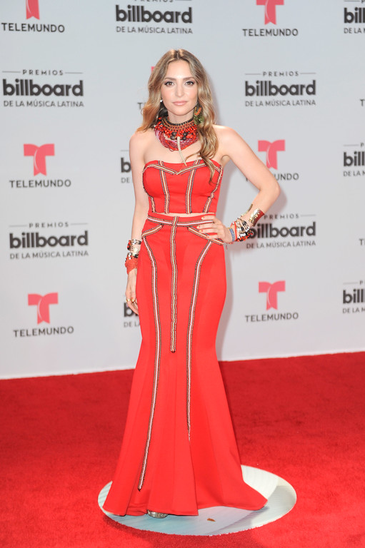 . CORAL GABLES, FL - APRIL 27:  Mirella Cesa attends the Billboard Latin Music Awards at Watsco Center on April 27, 2017 in Coral Gables, Florida.  (Photo by Sergi Alexander/Getty Images)