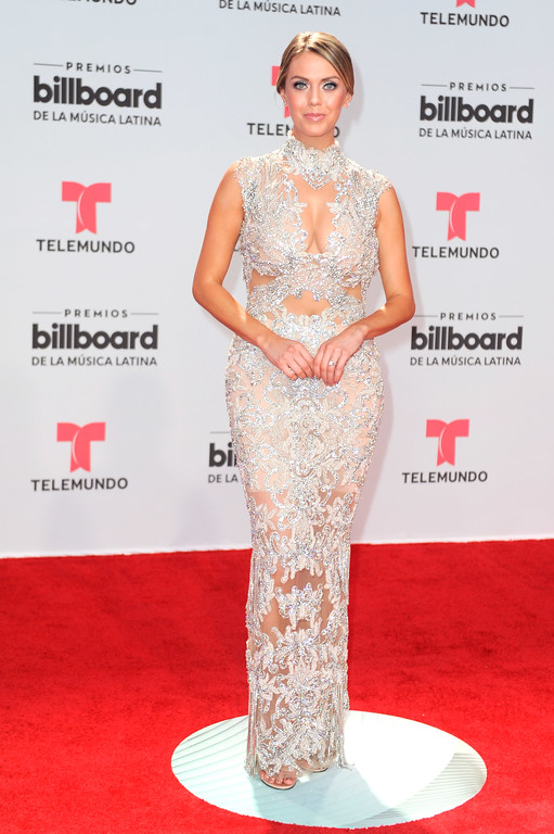 . CORAL GABLES, FL - APRIL 27:  Jessica Carrillo attends the Billboard Latin Music Awards at Watsco Center on April 27, 2017 in Coral Gables, Florida.  (Photo by Sergi Alexander/Getty Images)