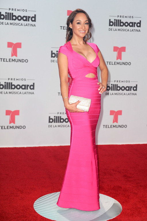 . CORAL GABLES, FL - APRIL 27:  Cynthia Bague attends the Billboard Latin Music Awards at Watsco Center on April 27, 2017 in Coral Gables, Florida.  (Photo by Sergi Alexander/Getty Images)