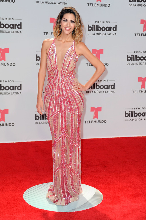 . CORAL GABLES, FL - APRIL 27:  Miriam Isa attends the Billboard Latin Music Awards at Watsco Center on April 27, 2017 in Coral Gables, Florida.  (Photo by Sergi Alexander/Getty Images)