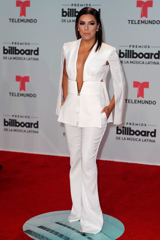 . CORAL GABLES, FL - APRIL 27:  Eva Longoria attends the Billboard Latin Music Awards at Watsco Center on April 27, 2017 in Coral Gables, Florida.  (Photo by Sergi Alexander/Getty Images)