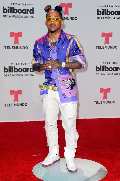 . CORAL GABLES, FL - APRIL 27: Bryant Myers attends the Billboard Latin Music Awards at Watsco Center on April 27, 2017 in Coral Gables, Florida.  (Photo by Sergi Alexander/Getty Images)