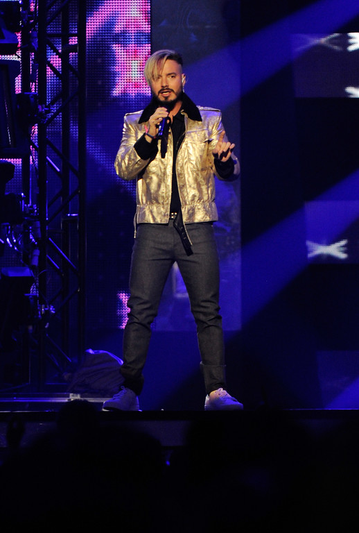 . CORAL GABLES, FL - APRIL 27:  J Balvin performs onstage at the Billboard Latin Music Awards at Watsco Center on April 27, 2017 in Coral Gables, Florida.  (Photo by Sergi Alexander/Getty Images)