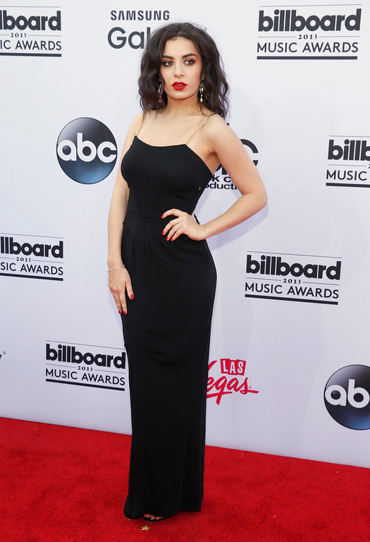 . Charli XCX arrives at the Billboard Music Awards at the MGM Grand Garden Arena on Sunday, May 17, 2015, in Las Vegas. (Photo by Eric Jamison/Invision/AP)
