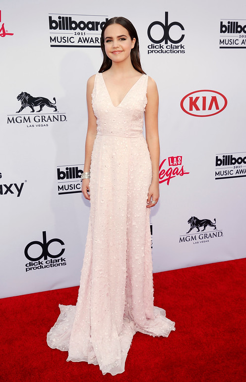 . Bailee Madison arrives at the Billboard Music Awards at the MGM Grand Garden Arena on Sunday, May 17, 2015, in Las Vegas. (Photo by Eric Jamison/Invision/AP)