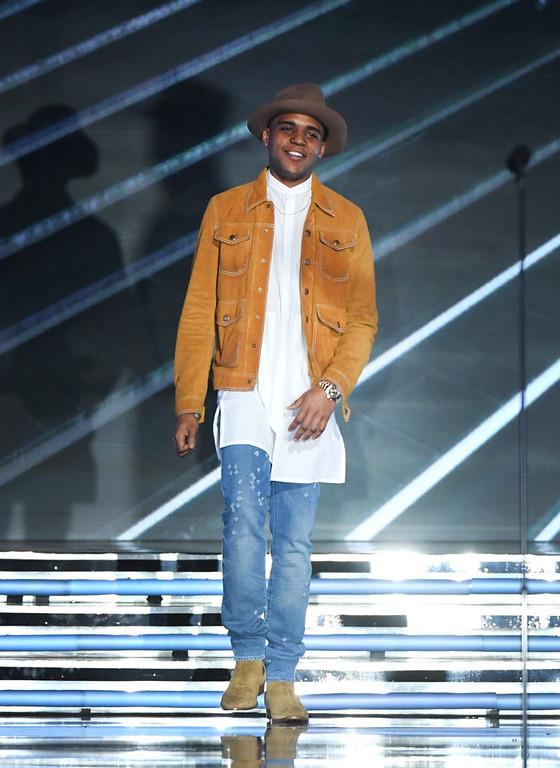 . LAS VEGAS, NV - MAY 21:  Actor Christopher Jordan Wallace walks onstage during the 2017 Billboard Music Awards at T-Mobile Arena on May 21, 2017 in Las Vegas, Nevada.  (Photo by Ethan Miller/Getty Images)