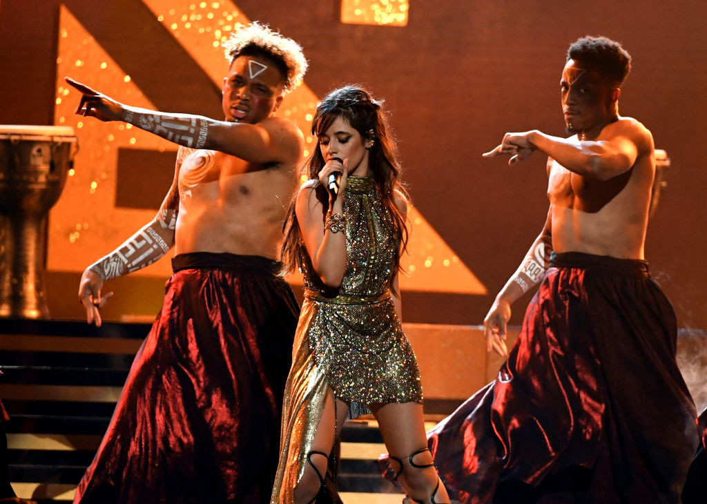. LAS VEGAS, NV - MAY 21:  Singer Camila Cabello performs onstage during the 2017 Billboard Music Awards at T-Mobile Arena on May 21, 2017 in Las Vegas, Nevada.  (Photo by Ethan Miller/Getty Images)