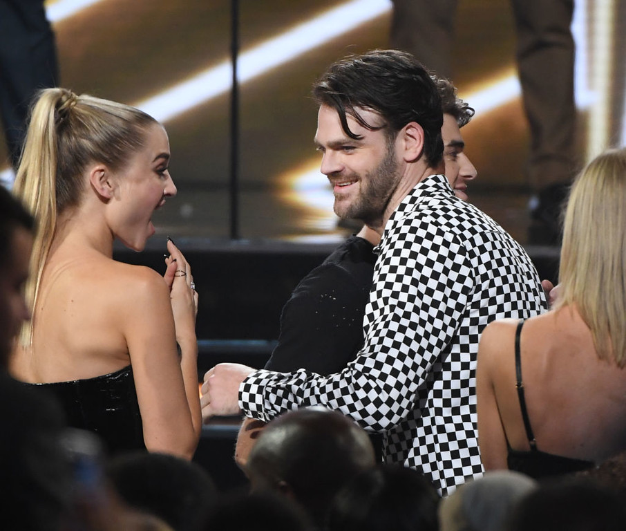 . LAS VEGAS, NV - MAY 21:  Musician Alex Pall of The Chainsmokers wins Top Collaboration for \'Closer\' during the 2017 Billboard Music Awards at T-Mobile Arena on May 21, 2017 in Las Vegas, Nevada.  (Photo by Ethan Miller/Getty Images)