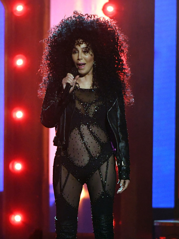 . LAS VEGAS, NV - MAY 21:  Actor/singer Cher performs onstage during the 2017 Billboard Music Awards at T-Mobile Arena on May 21, 2017 in Las Vegas, Nevada.  (Photo by Ethan Miller/Getty Images)