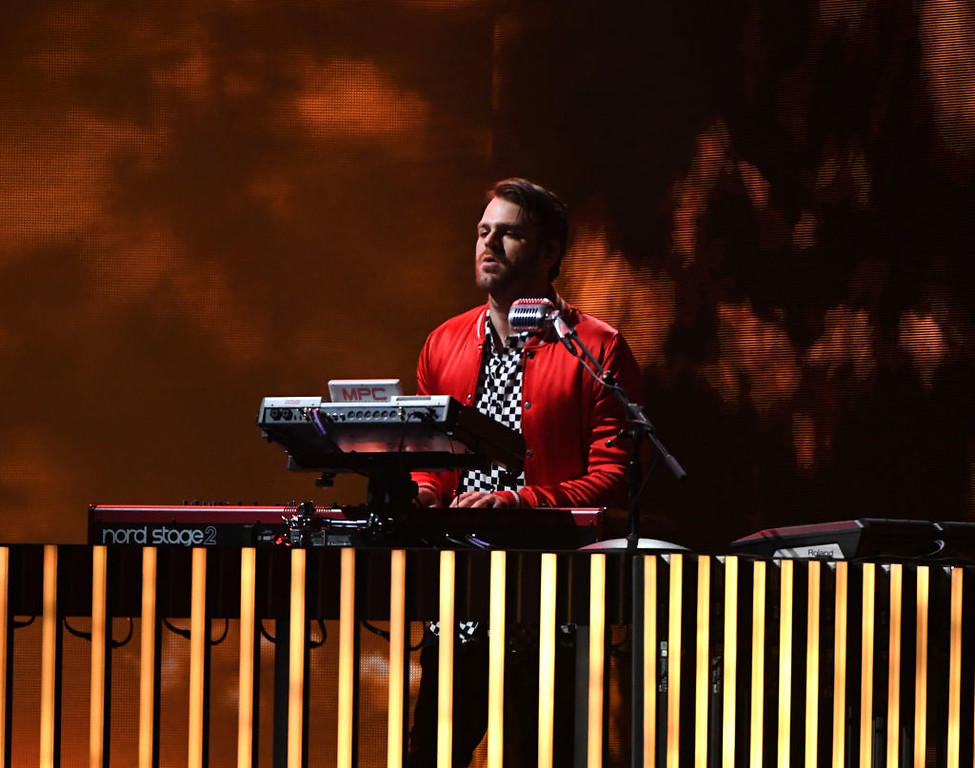 . LAS VEGAS, NV - MAY 21:  Musician Alex Pall of The Chainsmokers performs onstage during the 2017 Billboard Music Awards at T-Mobile Arena on May 21, 2017 in Las Vegas, Nevada.  (Photo by Ethan Miller/Getty Images)
