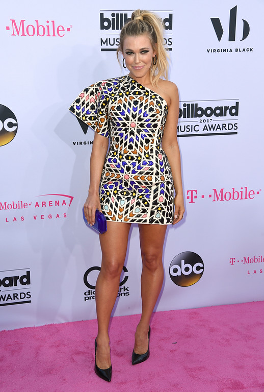 . Rachel Platten arrives at the Billboard Music Awards at the T-Mobile Arena on Sunday, May 21, 2017, in Las Vegas. (Photo by Richard Shotwell/Invision/AP)