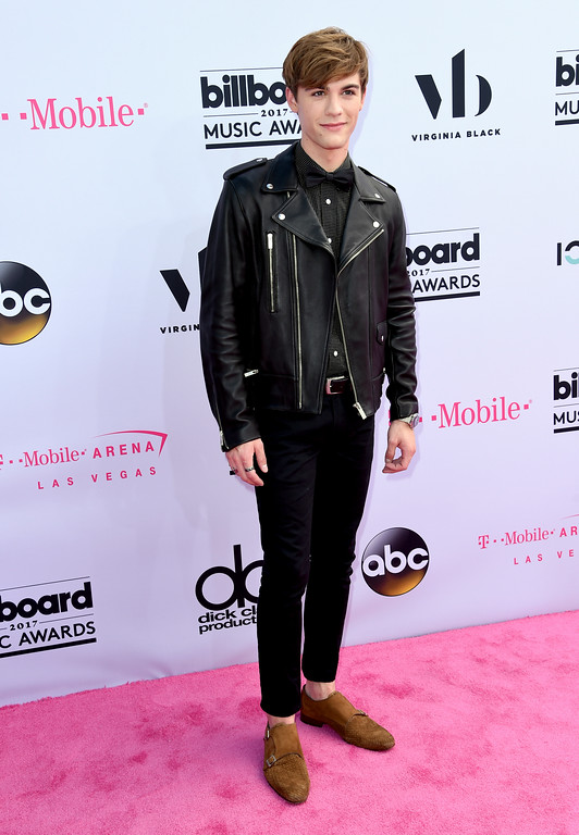. Jordan Doww arrives at the Billboard Music Awards at the T-Mobile Arena on Sunday, May 21, 2017, in Las Vegas. (Photo by Richard Shotwell/Invision/AP)