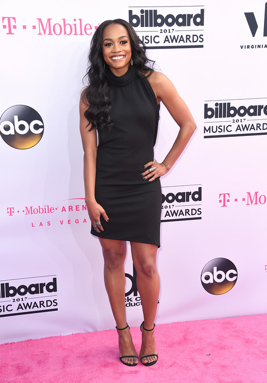 . Rachel Lindsay arrives at the Billboard Music Awards at the T-Mobile Arena on Sunday, May 21, 2017, in Las Vegas. (Photo by Richard Shotwell/Invision/AP)