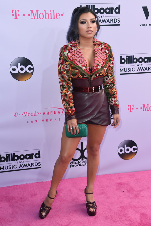 . Kirstin Maldonado arrives at the Billboard Music Awards at the T-Mobile Arena on Sunday, May 21, 2017, in Las Vegas. (Photo by Richard Shotwell/Invision/AP)