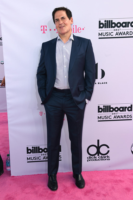 . Mark Cuban arrives at the Billboard Music Awards at the T-Mobile Arena on Sunday, May 21, 2017, in Las Vegas. (Photo by Richard Shotwell/Invision/AP)