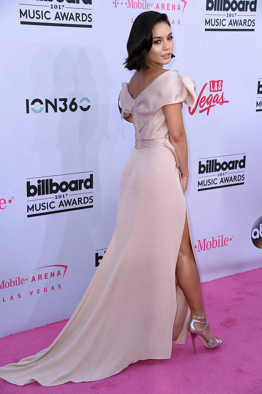 . Vanessa Hudgens arrives at the Billboard Music Awards at the T-Mobile Arena on Sunday, May 21, 2017, in Las Vegas. (Photo by Richard Shotwell/Invision/AP)