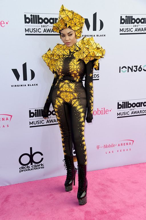 . Dencia arrives at the Billboard Music Awards at the T-Mobile Arena on Sunday, May 21, 2017, in Las Vegas. (Photo by Richard Shotwell/Invision/AP)