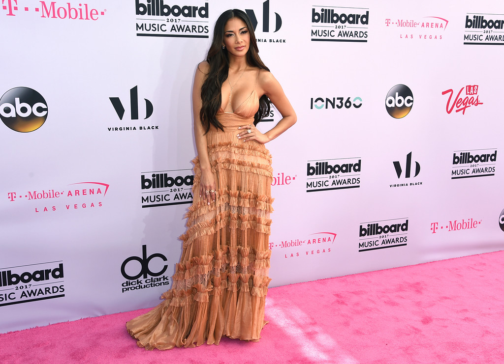 . Nicole Scherzinger arrives at the Billboard Music Awards at the T-Mobile Arena on Sunday, May 21, 2017, in Las Vegas. (Photo by Richard Shotwell/Invision/AP)