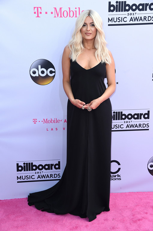 . Bebe Rexha arrives at the Billboard Music Awards at the T-Mobile Arena on Sunday, May 21, 2017, in Las Vegas. (Photo by Richard Shotwell/Invision/AP)