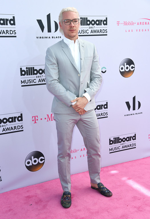 . Diplo arrives at the Billboard Music Awards at the T-Mobile Arena on Sunday, May 21, 2017, in Las Vegas. (Photo by Richard Shotwell/Invision/AP)