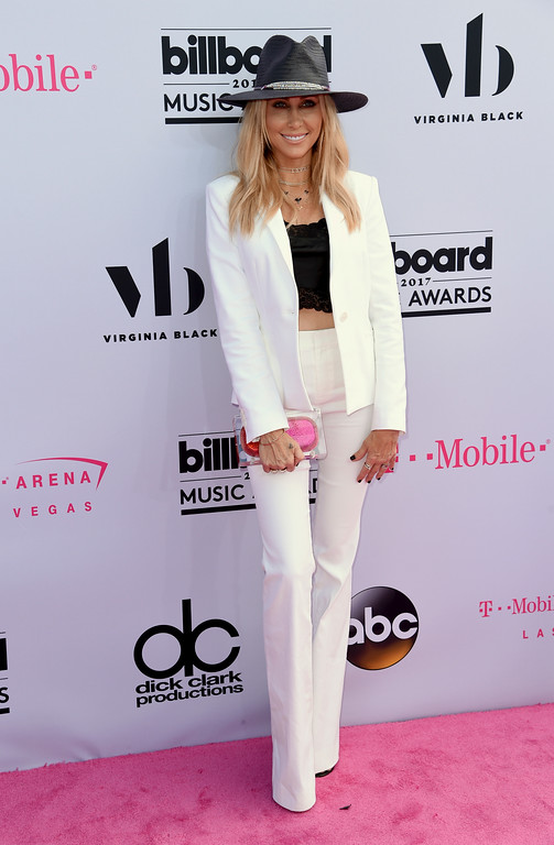 . Tish Cyrus arrives at the Billboard Music Awards at the T-Mobile Arena on Sunday, May 21, 2017, in Las Vegas. (Photo by Richard Shotwell/Invision/AP)