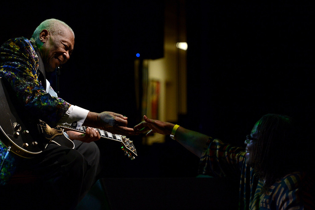 . B.B. King performs at San Manuel Indian Bingo & Casino in Highland, CA., Thursday, December 5, 2013.