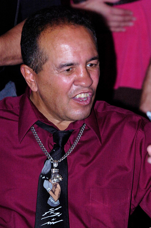 . Bobby Chacon. Many celebrities of the boxing world were on hand along with many fans for The Inaugural World Boxing Council\'s Legends of Boxing Museum at the American Sports University in San Bernardino, Friday, June 26, 2008. Eric Reed/Staff photographer