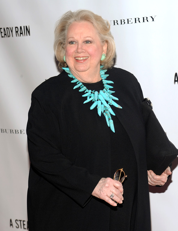. Barbara Cook attends the Broadway opening night of \'A Steady Rain\' on Tuesday, Sept. 29, 2009 in New York. (AP Photo/Evan Agostini)