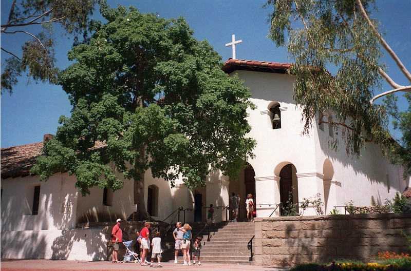 . Mission in San Luis Obispo.