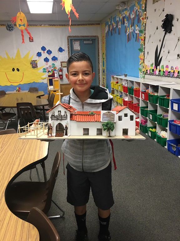 ". Becky Ramirez\'s son Sean, 9, made a model of the Mission San Francisco de Asís in fourth grade last year. ""He really got a lot out of it,\"" Becky Ramirez said of her son\'s project. \""I learned so much through him. I learned what the El Camino Real was. ... He was just super, super excited.\"""