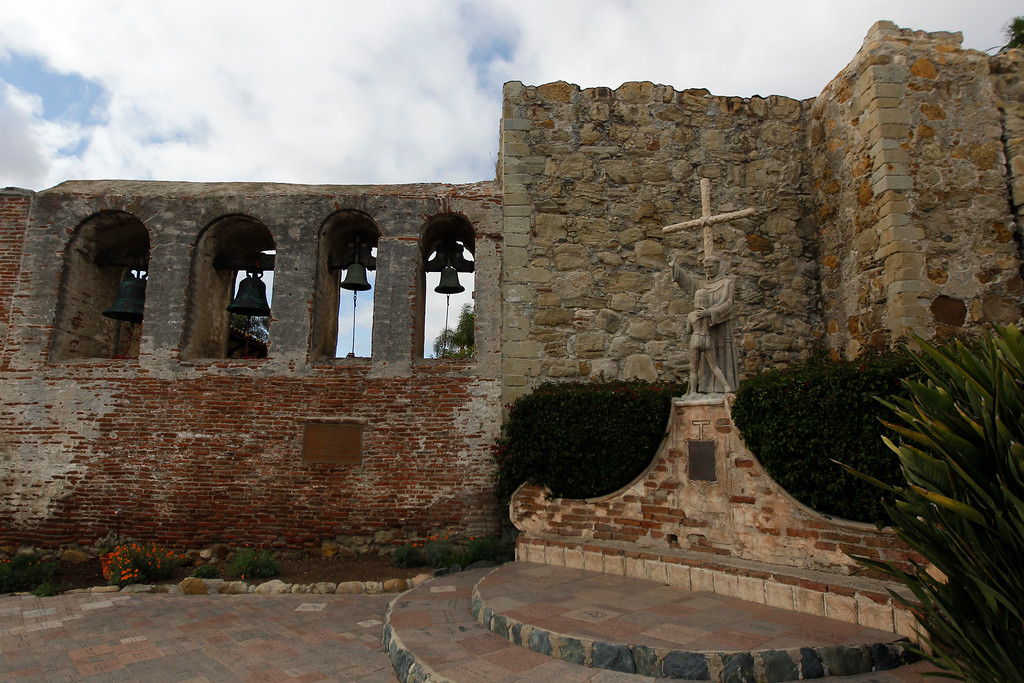 . Mission in San Juan Capistrano, Calif., Thursday, April 26, 2012.  (AP Photo/Chris Carlson)