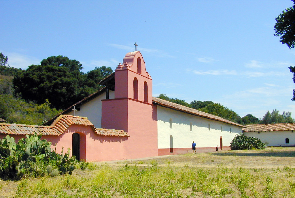 . La Purisima Mission State Historic Park in Lompoc, Calif., is shown July 20, 2005.   (AP Photo/Santa Barbara News-Press, Nora K. Wallace)