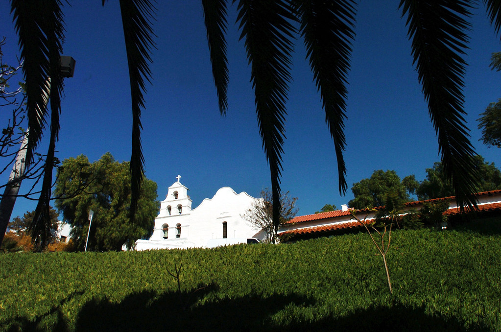 . View of the San Diego Mission de Acala, which is the oldest mission in California, on December 2, 2004 in San Diego, California.    (Photo by Sandy Huffaker/Getty Images)