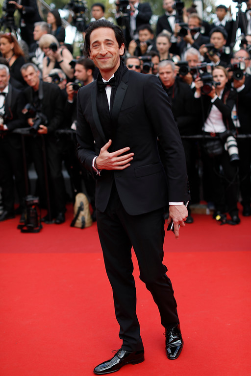 . Actor Adrien Brody poses for photographers upon arrival at the 70th Anniversary of the film festival, Cannes, southern France, Tuesday, May 23, 2017. (AP Photo/Thibault Camus)