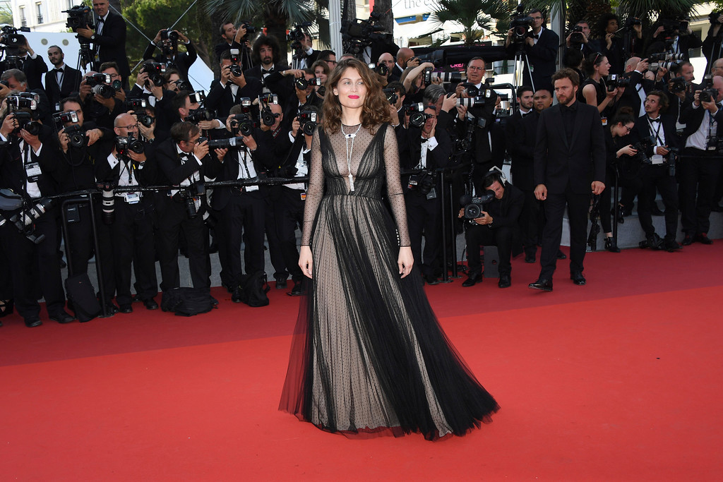 . Actress Laetitia Casta poses for photographers upon arrival at the 70th Anniversary of the film festival, Cannes, southern France, Tuesday, May 23, 2017. (Photo by Arthur Mola/Invision/AP)