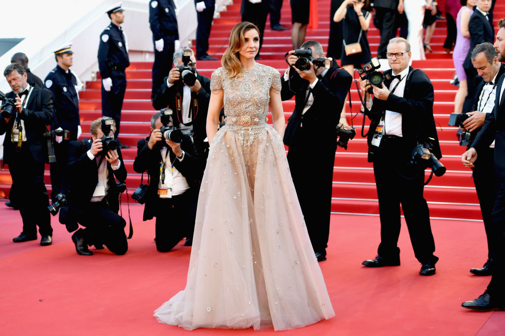". CANNES, FRANCE - MAY 17:  Clotilde Courau attends the ""Ismael\'s Ghosts (Les Fantomes d\'Ismael)\"" screening and Opening Gala during the 70th annual Cannes Film Festival at Palais des Festivals on May 17, 2017 in Cannes, France.  (Photo by Pascal Le Segretain/Getty Images)"