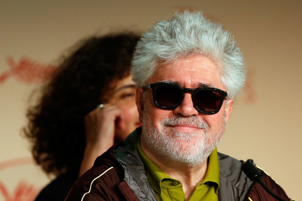 . CANNES, FRANCE - MAY 17:  President of the jury Pedro Almodovar attends the Jury press conference during the 70th annual Cannes Film Festival at Palais des Festivals on May 17, 2017 in Cannes, France.  (Photo by Getty Images/Getty Images)