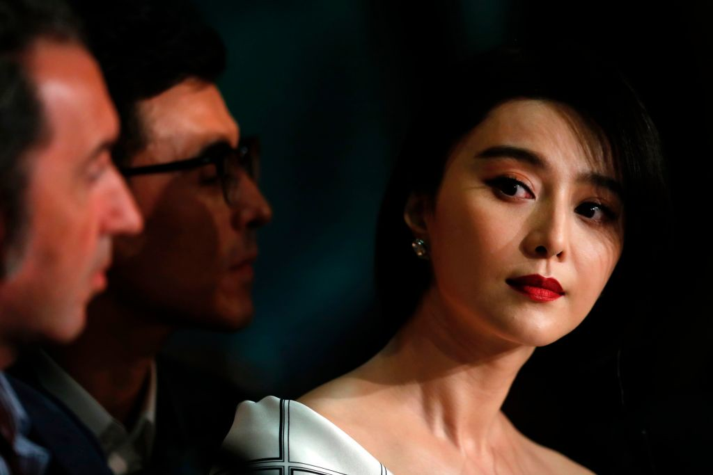 . Chinese actress and member of the Feature Film jury Fan Bingbing  attends on May 17, 2017 a press conference ahead of the opening ceremony of the 70th edition of the Cannes Film Festival in Cannes, southern France.  (LAURENT EMMANUEL/AFP/Getty Images)