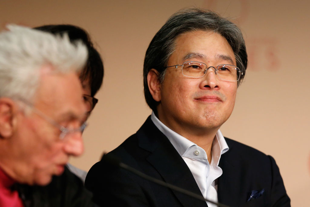 . CANNES, FRANCE - MAY 17:  Jury member Park Chan-Wook attends the Jury press conference during the 70th annual Cannes Film Festival at Palais des Festivals on May 17, 2017 in Cannes, France.  (Photo by Getty Images/Getty Images)